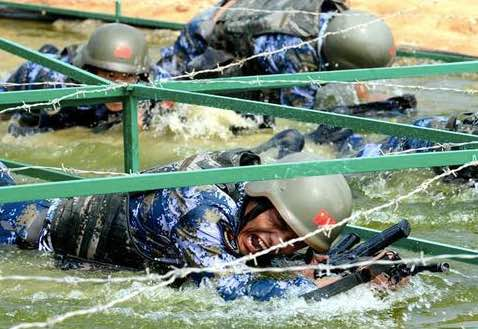 'Seaborne Assault' Survival Trail Event Started in East China's Quanzhou