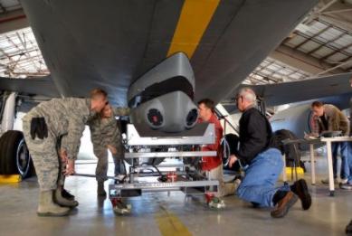AFRC Tests KC-135 Defense System