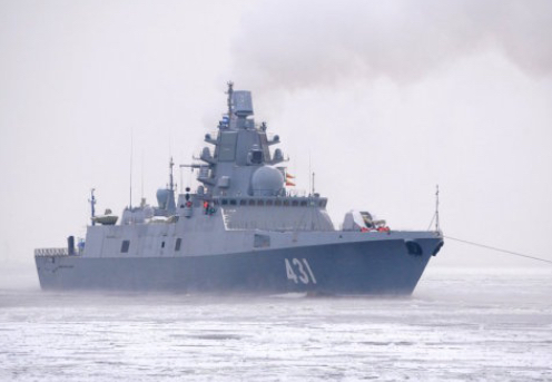 Admiral Kasatonov Frigate Finishes First Stage of Sea Trial in Baltic Sea