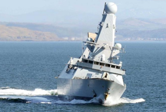 All Six Royal Navy Destroyers Now in Port after HMS Diamond Returns