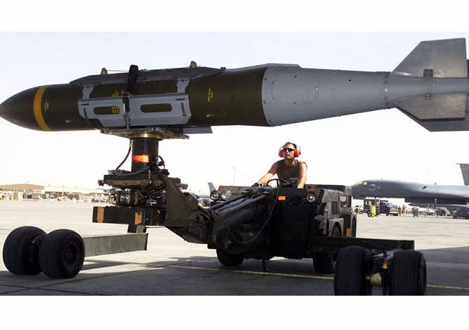 Allies to Receive First Shipment of Precision Guided Munitions Acquired Through NATO