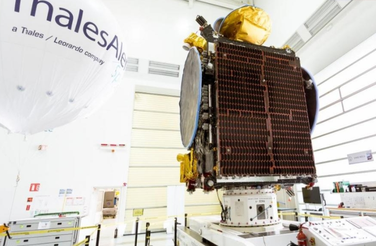 Another Thales Alenia Space-Built Satellite Now in Orbit