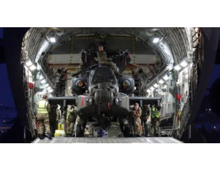 Apaches Make Arctic Debut
