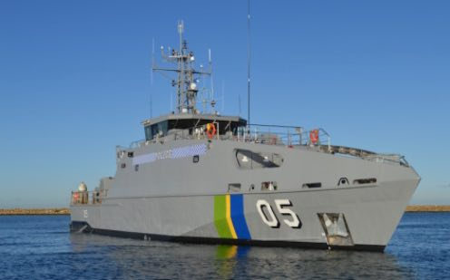 Austal Australia Delivers 5th Guardian Class Patrol Boat in Less Than 12 Months