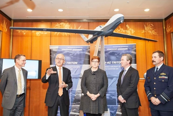 Australia to Purchase Triton Aircraft System, Delivering Unprecedented Maritime Domain Awareness