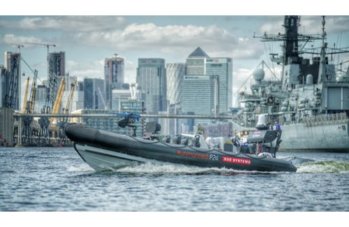 BAE Systems Demonstrates First Integration of Unmanned Surface Vessel with Royal Navy Warship