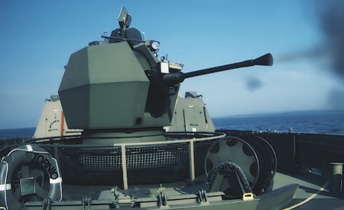 BAE Systems Naval Guns Selected for Belgian and Dutch Navies