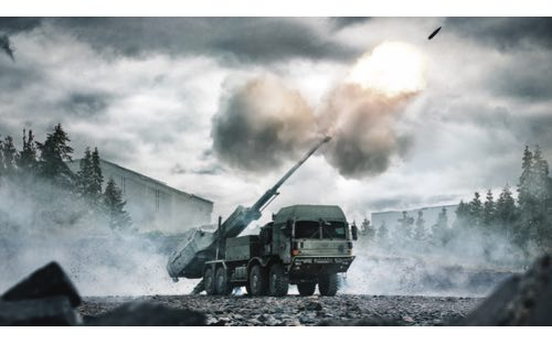 BAE Systems Unveils New ARCHER Mobile Howitzer at DSEI