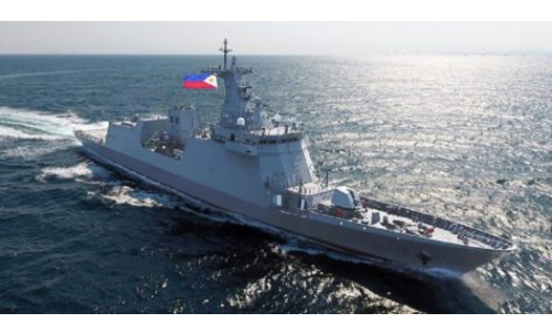 BRP Jose Rizal with Med Supplies to Arrive May 23