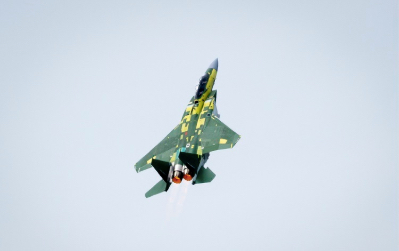 Boeing's F-15 Qatar Advanced Jet Completes Successful First Flight