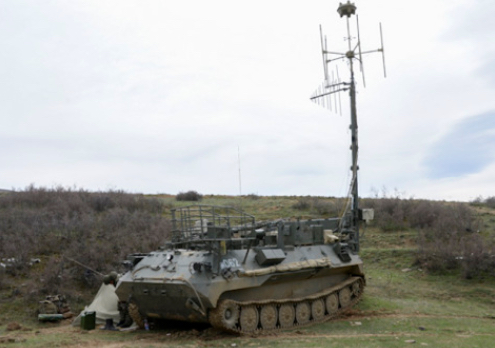 Borisoglebsk-2 Electronic Warfare Complex Enters the Service with Amur Formation, [Eastern] Military District