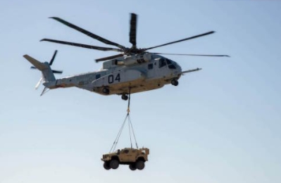 CH-53K Demonstrates Vehicle Lift