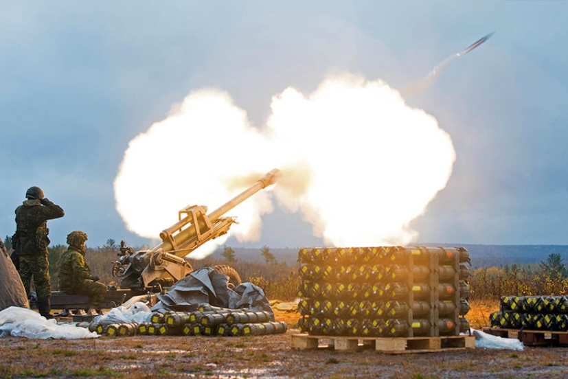Canadian Army Trialling More Powerful, More Precise Artillery Shells