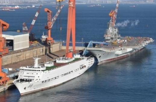 China's 2nd Barracks Ship Appears in Dalian