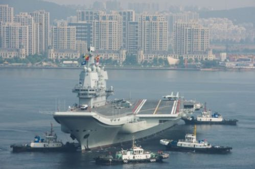 China's Second Aircraft Carrier's Eighth Sea Trial Could Lead to Commissioning