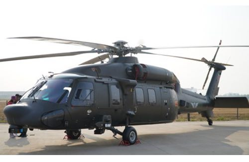 China's Z-20 Chopper Features Powerful Homemade Engine: Maker