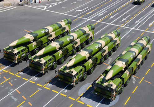 China's Ship-Killer Missiles Mobilized to Northwest China Plateau