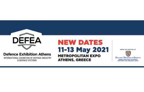 DEFEA - Defence Exhibition Athens New Dates