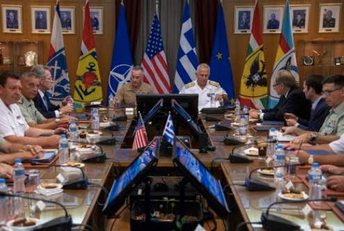 Dunford Gets Greek View of Regional Challenges