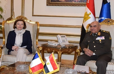 Egypt's Defence Minister Sobhi, French Counterpart Parly Inaugurate Rafale Training Centre