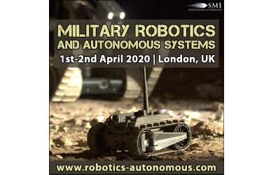 Estonian Defence Forces to give updates on their RAS Program at Military Robotics and Autonomous Systems 2020
