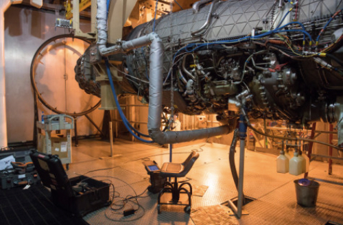 F135 Returns to Arnold for Testing in Sea Level facility