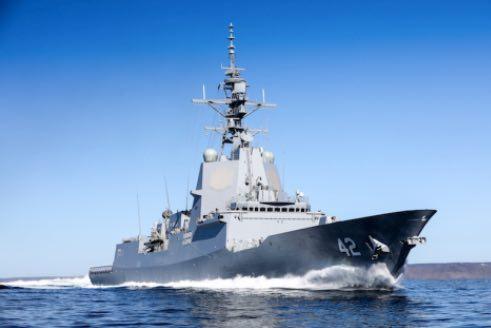 Final Air Warfare Destroyer Completes Sea Trials