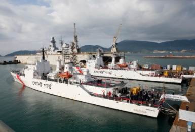 Fincantieri Delivers the Last Two OPVs to the Bangladesh Coast Guard