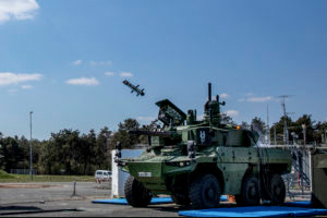 First Firing Of MMP From A Jaguar Armoured Vehicle