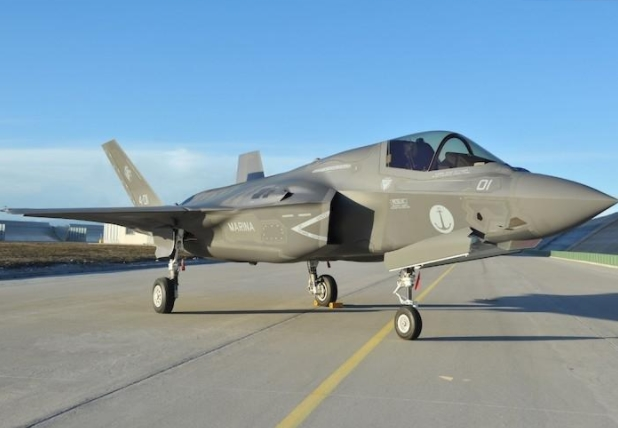 First Italian-Built F-35B Delivered to Italian Ministry of Defense at Cameri Production Facility