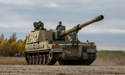 First K9 Kõu Self-Propelled Howitzers Delivered to Estonian Defense Forces