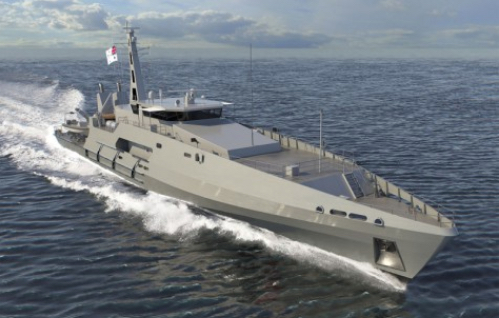 Defence Industry Minister Cuts Metal on Second of Six Cape Class Patrol Boats for Royal Australian Navy
