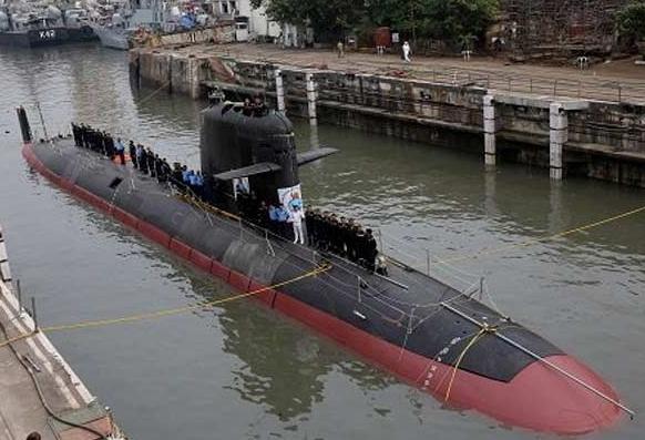 First of Six Scorpene-Class Submarines, Kalvari, Handed Over to Navy