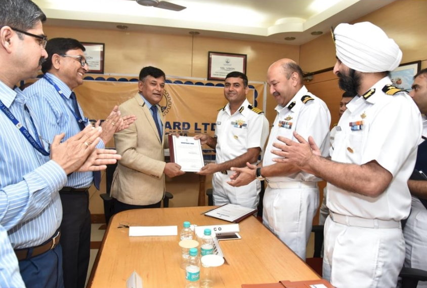 GSL Successfully Culminates 6 Coast Guards OPV Project
