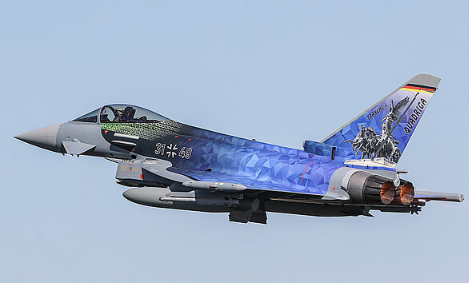 HENSOLDT to deliver radar electronics for 'Quadriga' Eurofighters