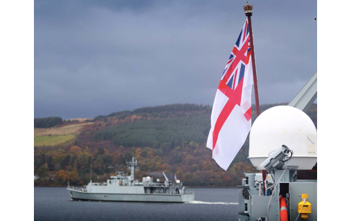 HMS Pembroke Gets New State-of-the-Art Minehunting System