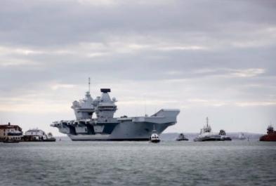 "HMS Queen Elizabeth Arrives Home After ""Successful Sea Trials"""