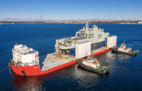 Halifax Shipyard Launches Canada's Second Arctic and Offshore Patrol Ship