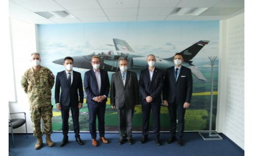 Hungarian ambassador to Czech Republic visited Aero