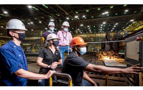 Huntington Ingalls Industries Begins Fabrication of NSC Friedman