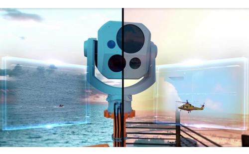 IAI Introduces a New Electro-Optical Surveillance System - MegaPOP