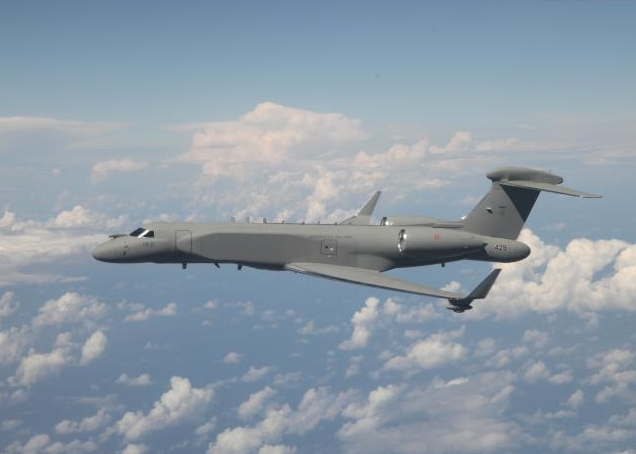 IMOD, IAI Deliver Second CAEW G550 to Italy