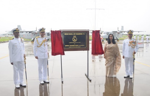 Indian Navy Commissions Dornier Squadron INAS 313 at Chennai