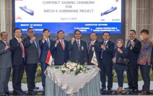 Indonesia Getting Three More Nagapasa-Class Diesel-Electric Submarines