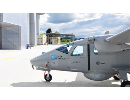 Indra Tests Its Targus Aircraft's Critical Systems