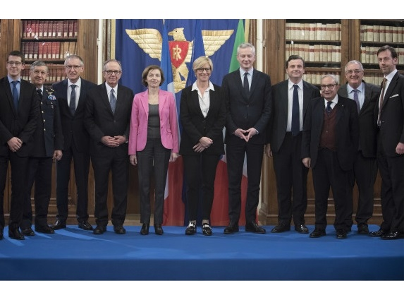 Industrial Cooperation: Italy-France Meeting on the Naval Sector
