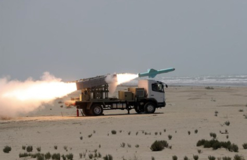 Iran Tests New Naval Missiles in Indian Ocean Exercise