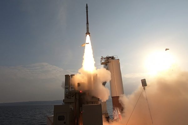 Israel and U.S. Successfully Completed a Series of Intercept Tests of an Advanced Version of the David's Sling Weapon System