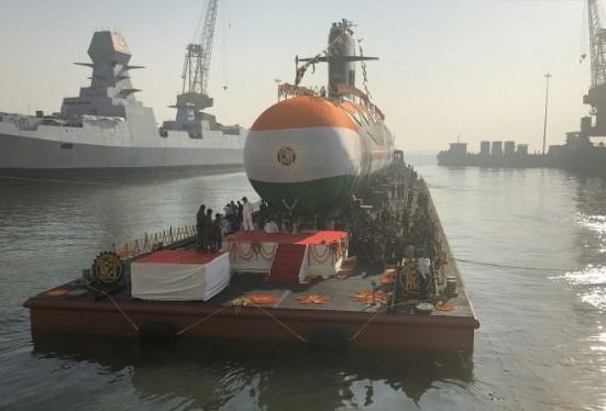 Karanj, Third Indian-Made Scorpene-Class Submarine, Launched