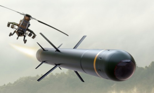 MBDA to Develop the Combat Missile for the Tiger Helicopter